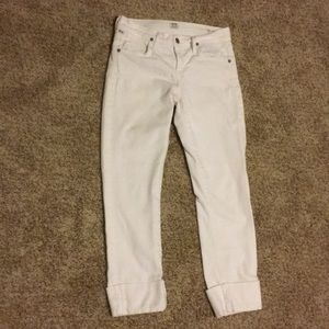 Citizens of Humanity white Capri jeans sz.25
